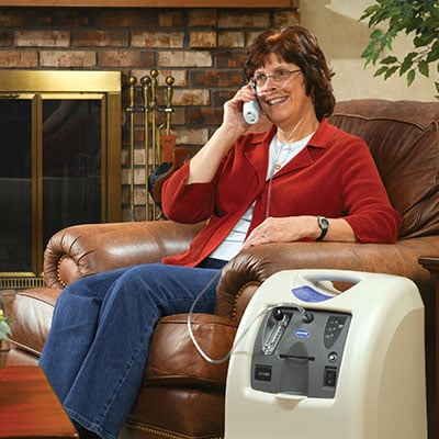 Invacare Perfecto2 V Stationary Oxygen Concentrator